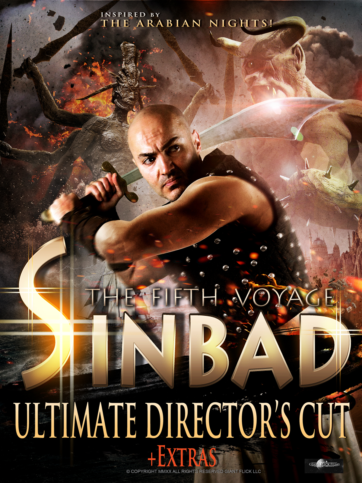 Sinbad The Sailor's Fifth Voyage Reemerges in Ultimate Director's Cut (2020) Available Now on Prime Video