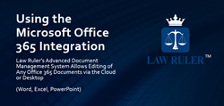 Law Ruler Document Management System with Office 365 Integration