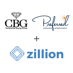 Continental Buying Group & Preferred Jewelers International selects Zillion as its Preferred Digital Insurance Partner