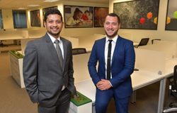 Parth Patel, CEO and Sam Yehya, COO, Six Consulting, Inc.