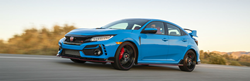 2021 Honda Civic Type R Exterior Driver Side Front Profile
