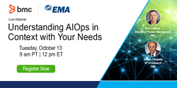 """Understanding AIOps in Context with Your Needs"" webinar"