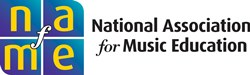 NAfME logo with full name