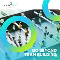 LeggUP team building and enterprise career coaching solutions
