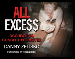 Book cover for ALL EXCE$$ Occupation Concert Promoter by Danny Zelisko