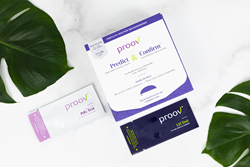 MFB Fertility Announces Proov® Predict and Confirm, a New Dual Hormone Testing Kit for At-Home Use to Get the Full Ovulation Picture 1