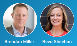 mPulse Mobile Chief Commercial Officer, Brendan Miller, and Government Programs Strategic Market Executive, Reva Sheehan