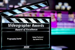 Progressive Dental Marketing's Award of Excellence for Videography