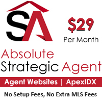Absolute Strategic Agent Miami MLS Website and IDX Premium Agent Combo for $29/month, NO Setup Fees, NO MLS Data Fees Covid19 Response Offer