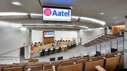Aatel Communications, Inc., the new video wall