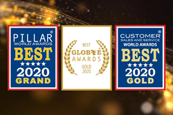 2020 Pillar, Globee, and Customer Sales and Service Awards