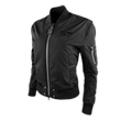 PXG Signature Zip Front Bomber Jacket with Dog Tag Zipper Pull