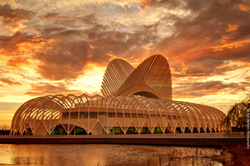 Florida Polytechnic University's Innovation, Science, and Technology building in Lakeland, Florida.