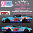 JJ Yeley joins UBCF to Drive Out Breast Cancer