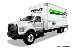 ROUSH CleanTech is providing Penske Truck Leasing with all-new Ford F-650 battery electric vehicles later this year for deployment across Southern California.