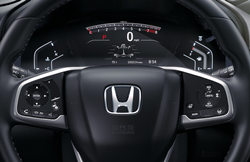 the steering wheel of a 2020 Honda CR-V