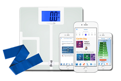 Wellness Kit with Smart Scale for at-home progress tracking.