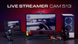 AVerMedia Launches the Live Streamer CAM 513 — 4K UHD, wide-angle lens webcam with CamEngine AI motion tracking