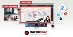 Bandicam Screen Recorder for teachers and students