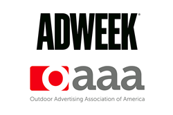 Adweek and OAAA logos
