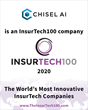Chisel AI earns a place on the 2020 INSURTECH100