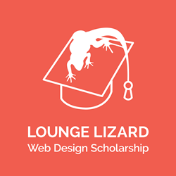 Lounge Lizard Website Design Scholarship