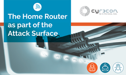 The Home Router as part of the Attack Surface