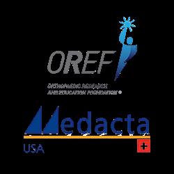 OREF and Medacta USA logos