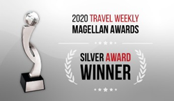 Magellan Award for Innovation form Travel Weekly won by VisitorsCoverage