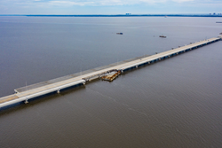 Three Mile Bridge Damage - Pensacola