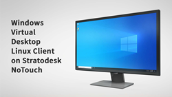 Stratodesk NoTouch Supports the Windows Virtual Desktop Linux Client