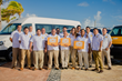 Cancun Airport Transportation staff and vehicles