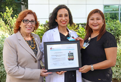 """The Emanate Health receives the """"Get With The Guidelines-Stroke Gold Plus Quality Achievement Award"""" from the American Heart Association."""