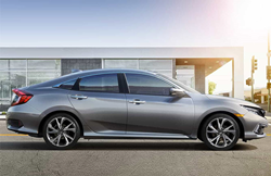 2021 Honda Civic Sedan profile view
