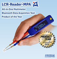 LCR-Reader-MPA is a finalist for Plant Engineering's Product of the Year 2020