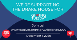 Abel Solutions supports The Drake House on GivingTuesday