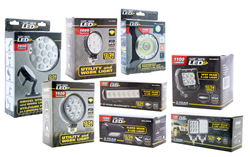 LED utility and work lights, LED utility lights, LED work lights