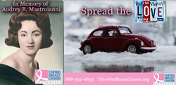 Spread The Love. Donate your car and Drive Out Breast Cancer!