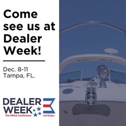 Boat dealers - Come see us at Dealer Week