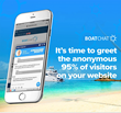 Boatchat - Time to greet the anonymous website visitors