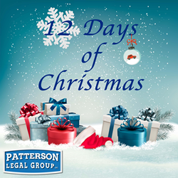 Patterson Legal Group - 12 Days of Christmas