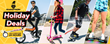 SWAGTRON Announces 2020 Black Friday & Cyber Monday Holiday Deals on Electric Scooters, Hoverboards, E-Bikes & Kick Scooters