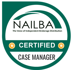 NAILBA Certified Case Manager Badge
