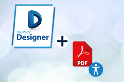 DocGeneration Engine v6 generation engine allows their customers now to comply with the Payment Services following the Order ECE 1263/2019 that took effect on July 1, 2020, from now on accessible PDF documents can be generated.