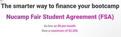 Nucamp Fair Student Agreement (FSA)
