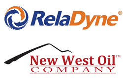 RelaDyne and New West Oil logos