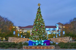Old Town Temecula Holiday Tree