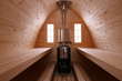 Igloo 40 Sauna interior view