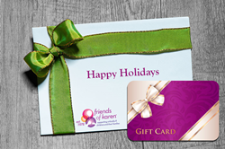 Gift Cards for a Cause: Makers Nutrition Donates to Friends of Karen for the 2020 Holiday Season