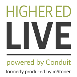 Higher Ed Live, powered by Conduit
